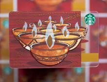 Starbucks Diwali Gift Card